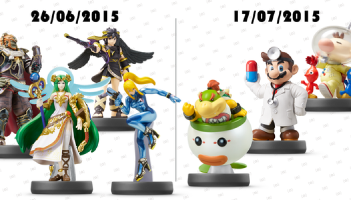 Upcoming Super Smash Bros. series amiibo release dates revealed for Europe