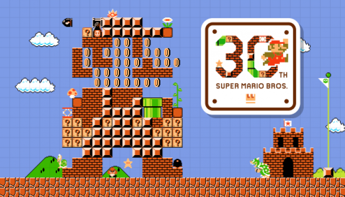 Nintendo of Europe celebrates Super Mario's 30th Anniversary with a brand-new website