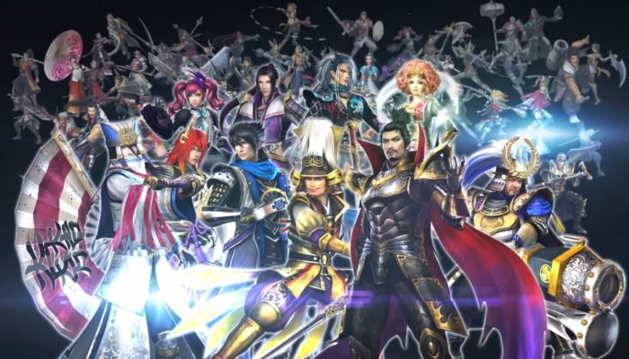 Samurai Warriors Chronicles 3 – European Debut Trailer
