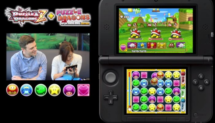 Nintendo Minute – Puzzle & Dragons Super Mario Bros. Edition Let's Puzzle!