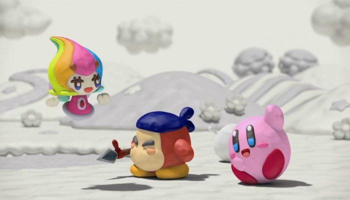 Kirby et le pinceau arc-en-ciel – Bande-annonce de lancement