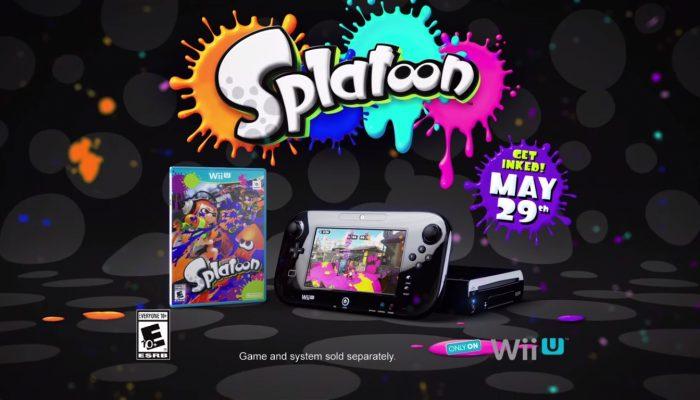 """Splatoon – """"Splat The World"""" TV Commercial"""