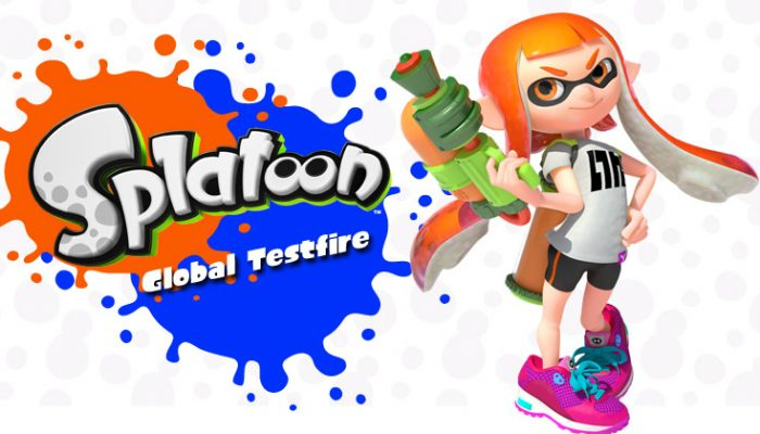 NoA: 'The Splatoon Global Testfire is returning for one final round!'