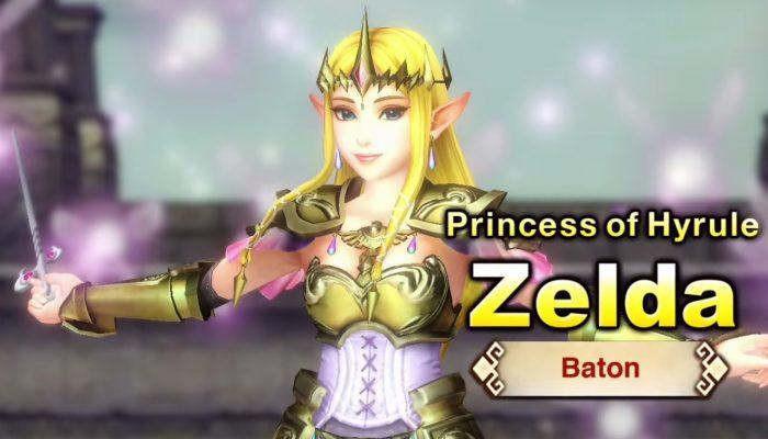 Hyrule Warriors – English Trailer with Zelda and Baton