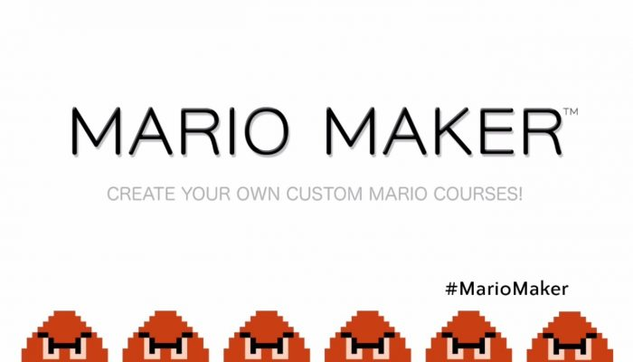 Mario Maker – E3 2014 Announcement Trailer