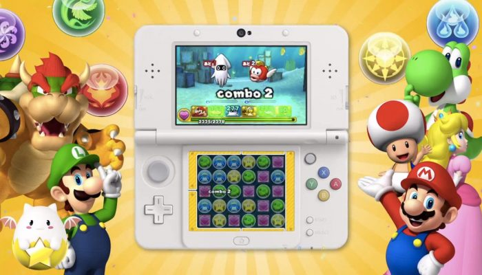 NoE: 'In shops and on Nintendo eShop now: Puzzle & Dragons Z + Puzzle & Dragons: Super Mario Bros. Edition'