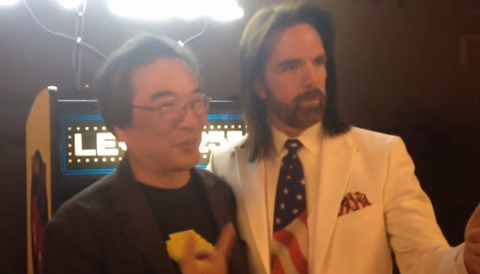 Pac-Man 35th Anniversary: Billy Mitchell shows Toru Iwatani Lv. 255 Invincible Run