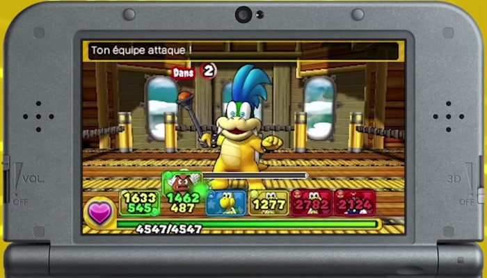 Puzzle & Dragons Super Mario Bros. Edition – Bande-annonce 25 secondes