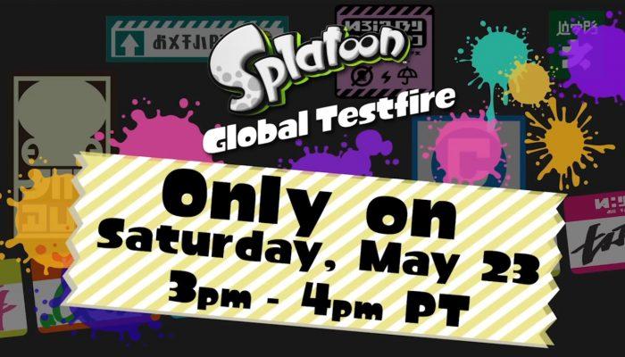 Splatoon – Don't Miss the Splatoon Global Testfire!
