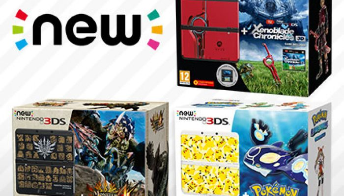 NoE: 'Epic adventures await with three new hardware bundles for New Nintendo 3DS, available from June 26th'