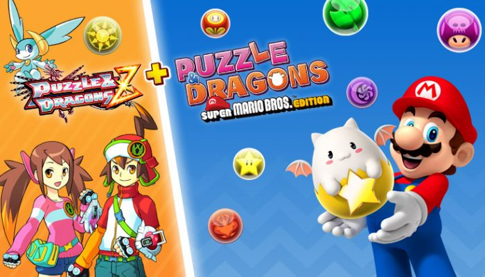 NoA: 'Puzzle & Dragons Z + Puzzle & Dragons Super Mario Bros. Edition is almost here!'