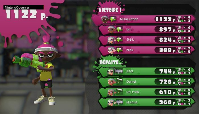 Splatoon Global Testfire – Calamar Warfare