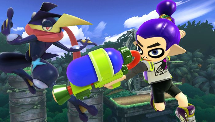 Super Smash Bros. – Lucas and Splatoon Costumes DLC Screenshots from 4Gamer