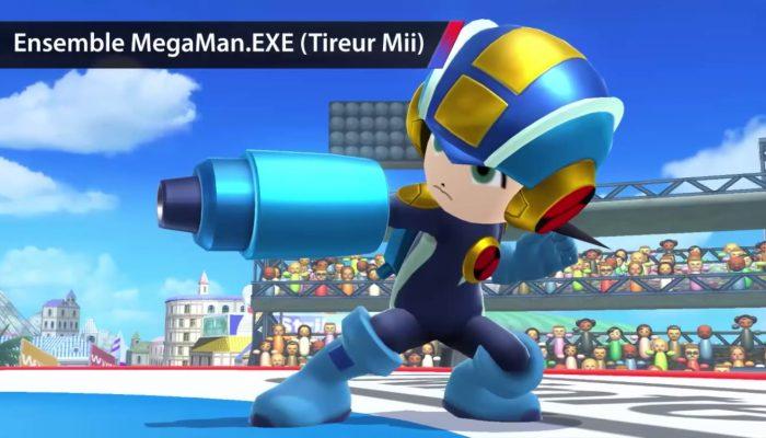 Super Smash Bros. for Nintendo 3DS / Wii U – Bande-annonce Nouveaux costumes pour combattants Mii