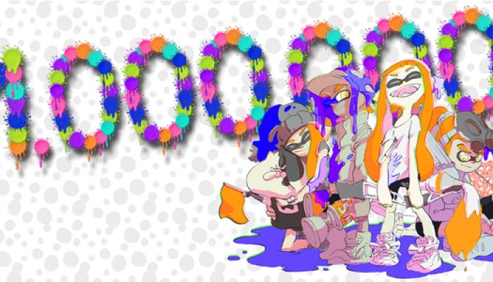 NoA: 'Squid Invasion: Nintendo's Splatoon Game for Wii U Crosses 1 Million in Sales'