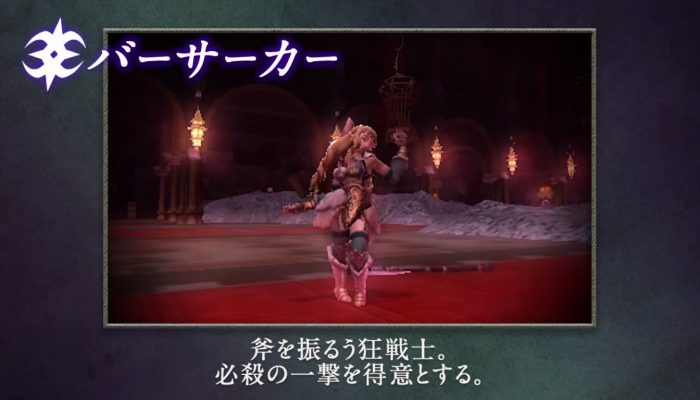 Fire Emblem Fates – Japanese Nohr Classes Introduction