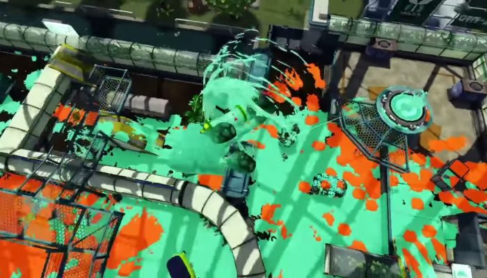 New Kelp Dome stage now available in Splatoon