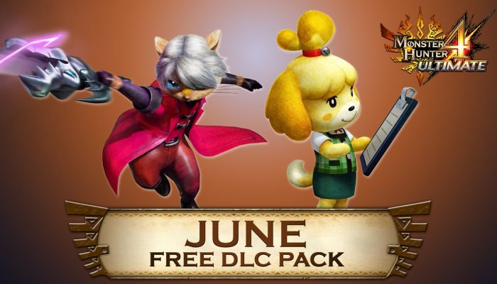 Capcom: 'Monster Hunter 4 Ultimate Free DLC line-up for June'