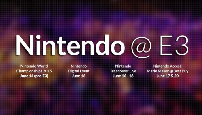 NoA: 'Nintendo's E3 events bring the show to you – get the schedule'