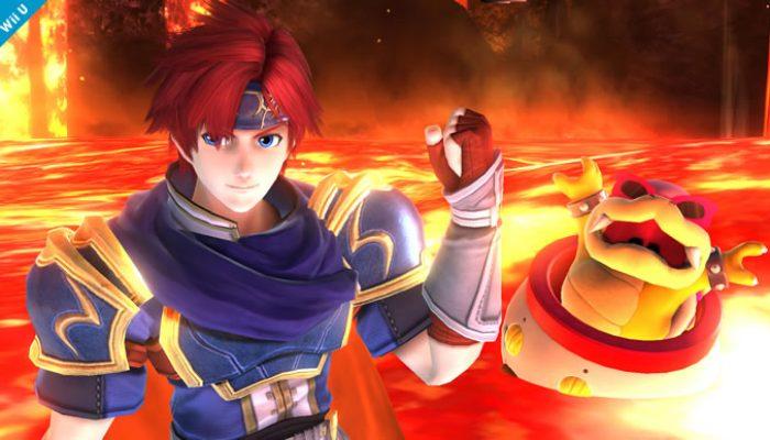 Super Smash Bros. – Roy, DLC Fighter Screenshots