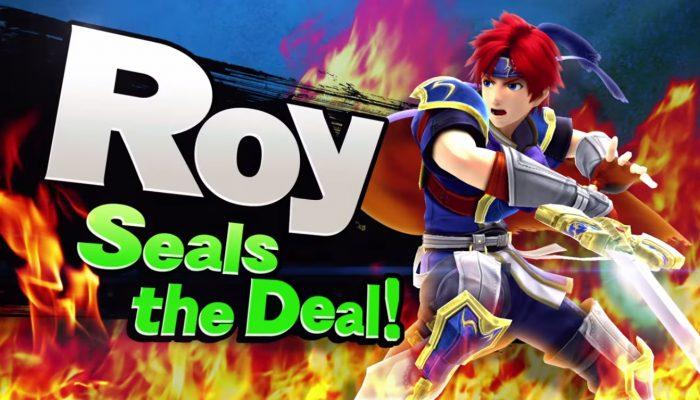 Super Smash Bros. – Roy seals the deal! Trailer
