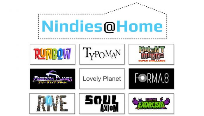 NoA: 'Nindies@Home lets players test-drive 9 indie games during E3'