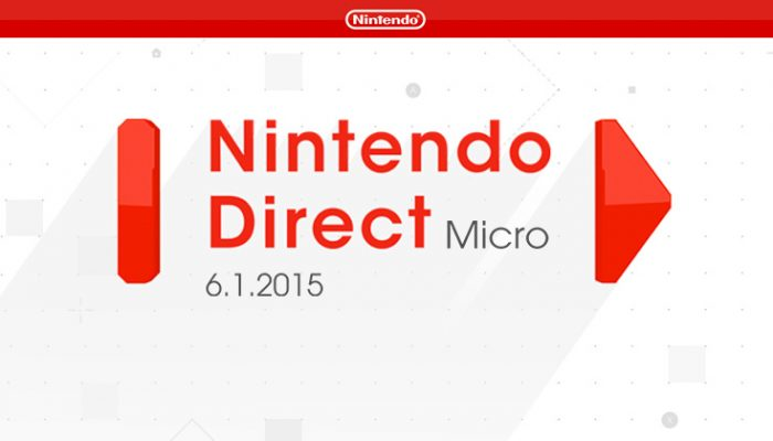 NoA: 'Nintendo announces new games in a Nintendo Direct Micro video presentation'