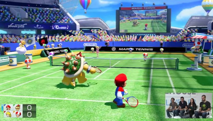 Nintendo Treehouse Live @ E3 2015 (Day 2) – Mario Tennis: Ultra Smash