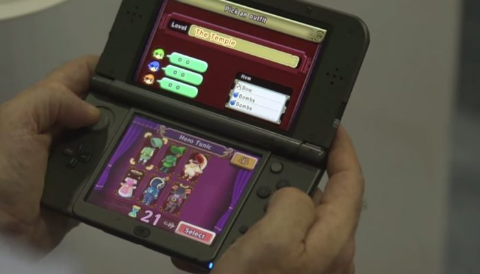 The Legend of Zelda: Tri Force Heroes – Game Play with Developers