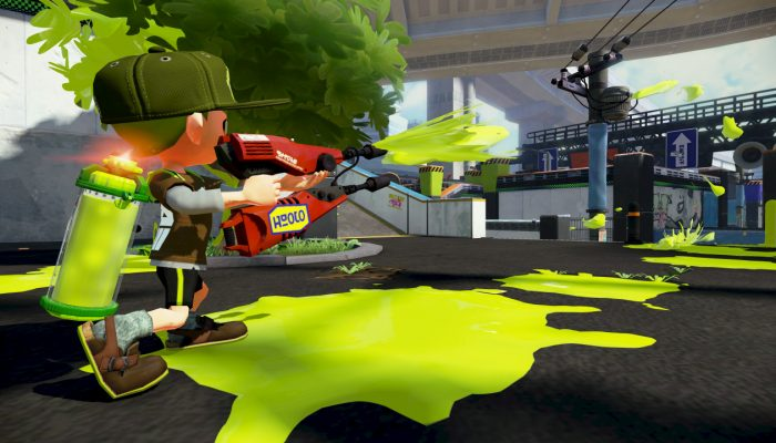 New weapons Carbon Roller and Custom Dual Squelcher now available in Splatoon