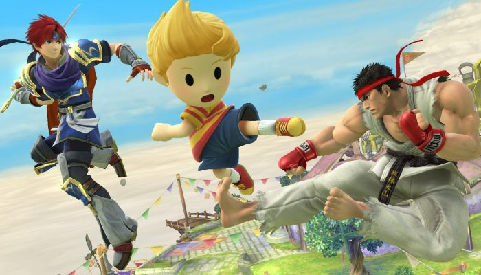 NoA: 'Street Fighter Icon Ryu Joins the Roster of Super Smash Bros. for Nintendo 3DS / Wii U'
