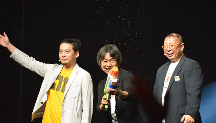 Pictures of Shigeru Miyamoto and friends at Japan Expo