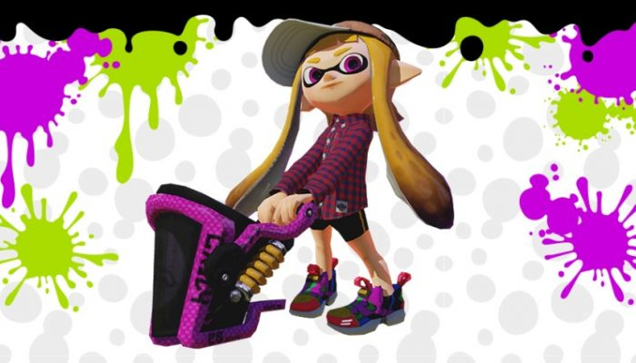 NoE: 'It's spray time! Major update for Splatoon available now'