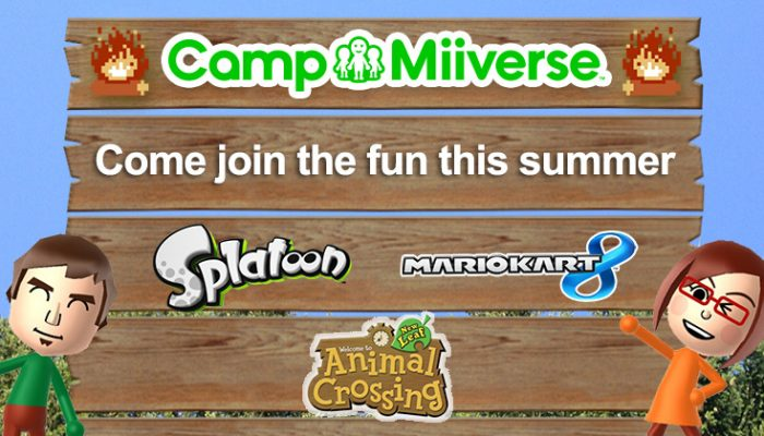 NoA: 'Camp Miiverse 2015 kicks off today'