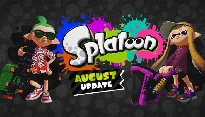 NoA: 'Massive August update brings a boatload of new content to Splatoon'