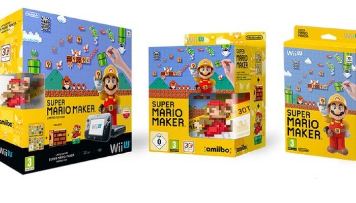 NoE: 'Celebrate Super Mario's 30th anniversary with the Super Mario Maker Wii U Premium Pack'