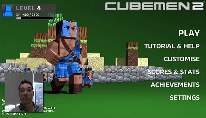 Bruce of Nnooo showcases upcoming Wii U title Cubemen 2 on Miiverse