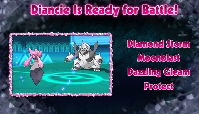 Pokémon ORAS – Prepare to Be Dazzled by the Mythical Pokémon Diancie!