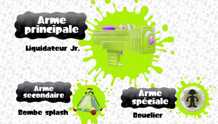 Splatoon – Analyse de l'arme : Liquidateur Jr.