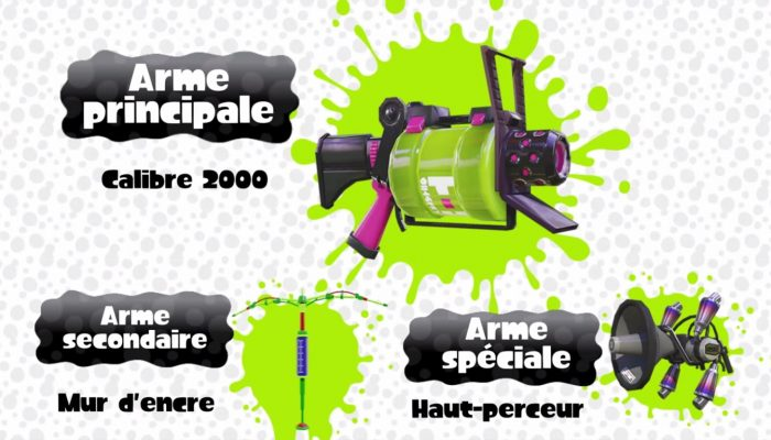 Splatoon – Analyse de l'arme : Calibre 2000