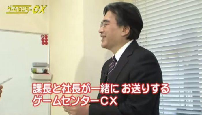 Satoru Iwata playing Balloon Fight