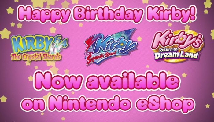 Nintendo eShop – Happy Birthday Kirby!