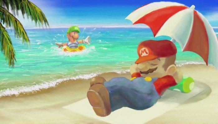 Art Academy : Atelier – Time Lapse : Mario & Luigi