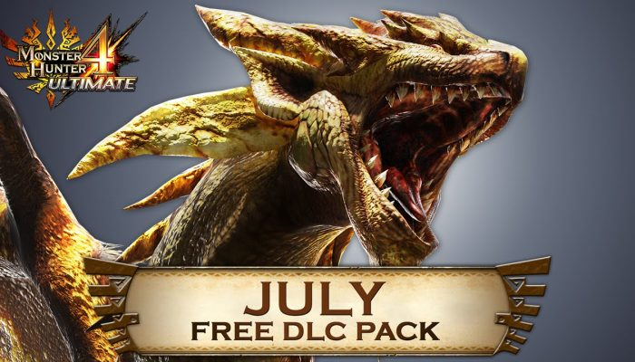 Capcom: 'Monster Hunter 4 Ultimate Free DLC line-up for July'