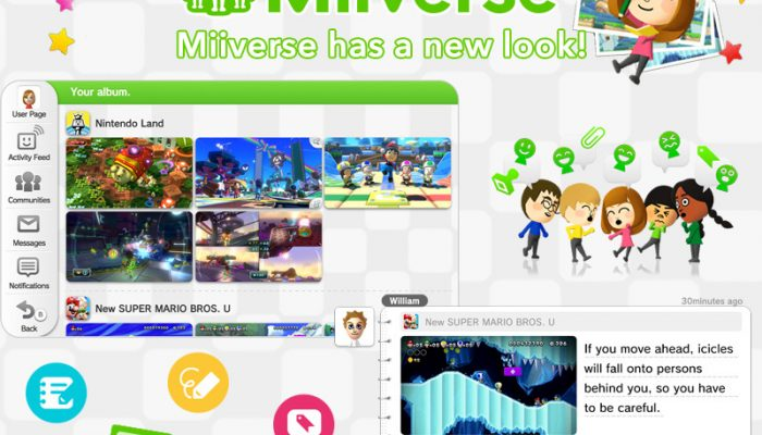 NoA: 'Miiverse Gets a Major Update That Makes Discussing Games Easier Than Ever'
