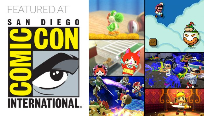 NoA: 'Super Mario Maker, amiibo and Nintendo 3DS take center stage at San Diego Comic-Con 2015'