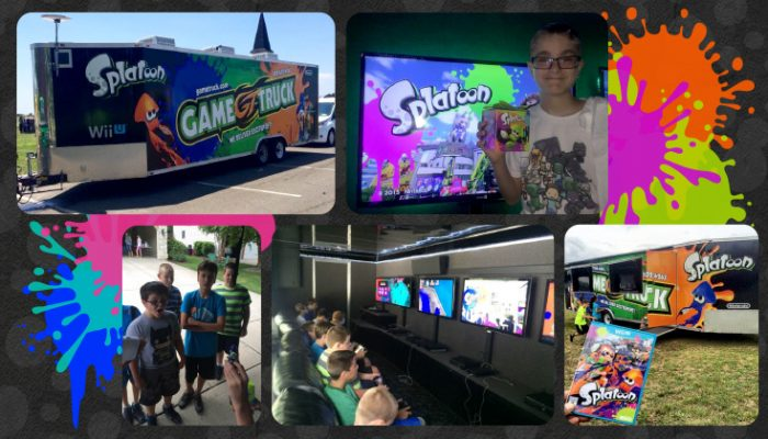 NoA: 'Nintendo and GameTruck partner to bring summer fun with Splatoon [across the country]'