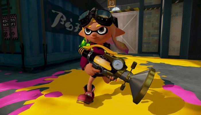 New weapons Sploosh-o-matic and .96 Gal Deco now available in Splatoon