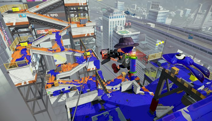 New stage Moray Towers now available in Splatoon