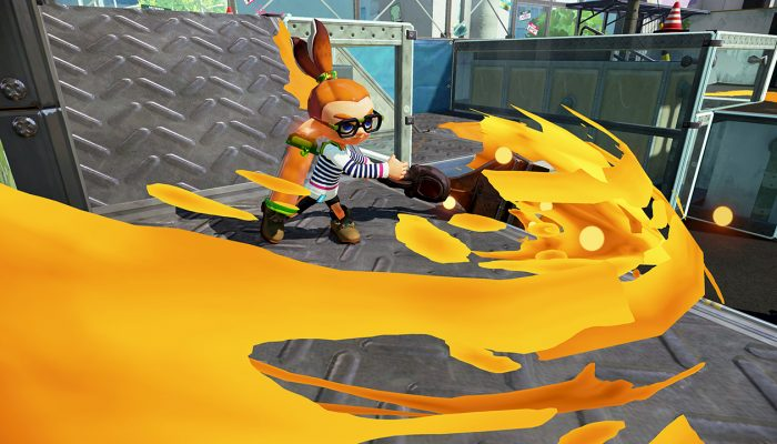 New weapons Octobrush and N-ZAP '89 now available in Splatoon